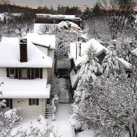 Зима, вид из окна :: Galina Kazakova