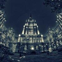 Вечерняя архитектура Москвы :: Алексей Соминский