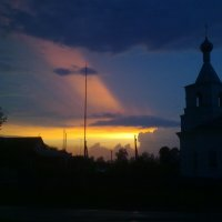 Вечерний купол.... :: Наталья Володькова