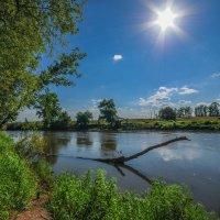 Река Дема под летним солнцем :: Сергей Тагиров