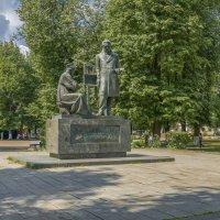 Памятник А.Г.Венецианову в Вышнем Волочке :: Михаил (Skipper A.M.)
