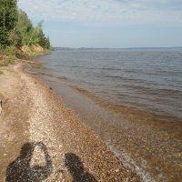 устье реки Чусовой :: Валерий Конев