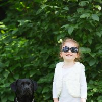 Лиана с собачкой. :: Евгений Рифиниус