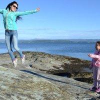 Мама учит летать :: Елена Байдакова