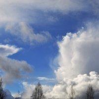 Беспокойные облака :: Владимир Рязанов