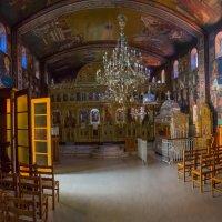 Остров Кефалония провославный монастырь.Греция. :: юрий макаров