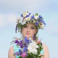 О красоте девушек и цветов :: Iryna K