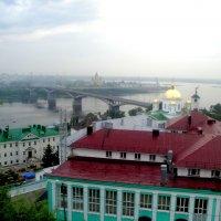 Вид на Нижегородскую семинарию :: Лебедев Виктор