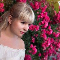 Любуюсь милыми цветами Приятен сердцу аромат! :: Райская птица Бородина