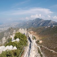 Замок Св. Иллариона на острове Кипр. :: Наталья Ванчикова