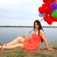 Даша на Волге :: Екатерина Кузнецова