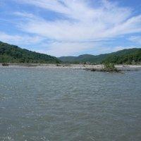 Река небо горы р.Шахе :: Олег Романенко