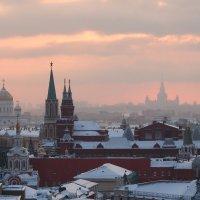 Вечер над Москвой :: Максим Ткаченко