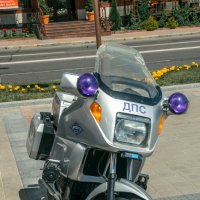 Мотоцикл ДПС :: Александр Витебский