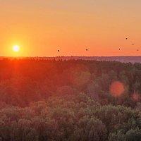 Закат и шары :: Владимир Гулин