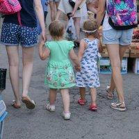 Хозяйки пошли на рынок :: Андрей Майоров