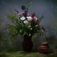 Букет полевых медоносных цветов :: ида Слизких