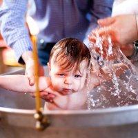 Таинство крещения. Георгий :: Наталья Тривайлова