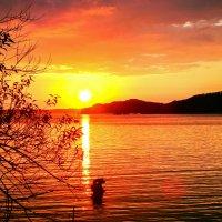 Яхта, море и... закат :: Арина