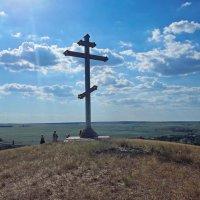 Памятный крест в степи. :: Aлександр **