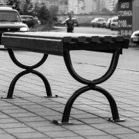 Эмблема Йоты в тюменских скамейках :: Evgenija Enot