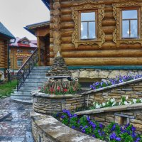Фрагмент татарской деревни :: Стил Франс
