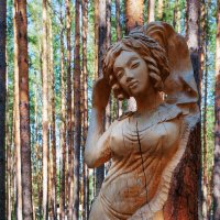 Скульптура из дерева :: Анатолий Иргл