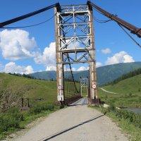 мост через р.Катунь :: Виктор