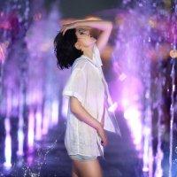 Аква съемка в фонтанах :: Фотохудожник Наталья Смирнова