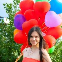 С шариками :: Екатерина Кузнецова
