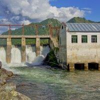 Чемальская ГЭС :: Виктор Четошников