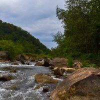 Горная речка. :: Роберт Хак.....