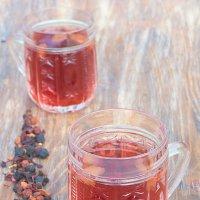 фруктовый чай в хрустальных чашечках :: Iryna K