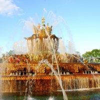.. Любимый фонтан .. :: Арина Дмитриева