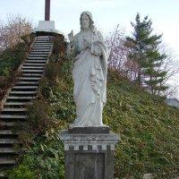 Скульптура  Иисуса  Христа  в  Городенке :: Андрей  Васильевич Коляскин