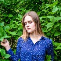 в густых кустах окутанная листьями :: Света Кондрашова