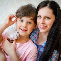 Мама и дочка :: Юлия