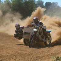 Мотоцикл с коляской :: Дарья Юдина