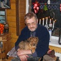 Человек собаке друг. :: Сергей