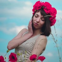 нежная Натали в цветочном аромате :: Annet Kuropyatnik