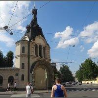 Колокольня церкви Казанской иконы Божьей Матери. :: Вера