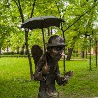 Петербургский ангел. Измайловский сад :: Елена Кириллова