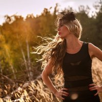 Ветер в её волосах... :: Анна