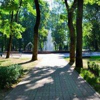 Картинка летнего города :: Милешкин Владимир Алексеевич
