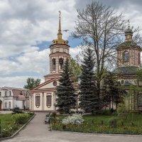 Крестовоздвиженская церковь в Алтуфьево :: Борис Гольдберг