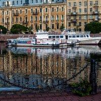 Парковка теплоходов (отражения) :: Valerii Ivanov