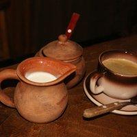 Чашечка кофе в сельском кафе. :: Олег Попков