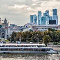 Москва. Вид на Москва-сити. :: В и т а л и й .... Л а б з о'в