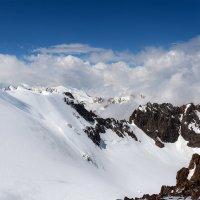 выше 4000 м с альпинистом :: Горный турист Иван Иванов