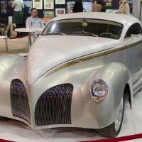 Красавец Lincoln Zephyr custom 1938 года :: Сергей Лошкарёв